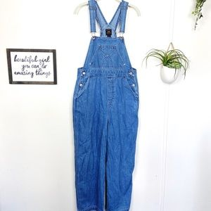 Vintage 90s Route 66 Denim Overalls